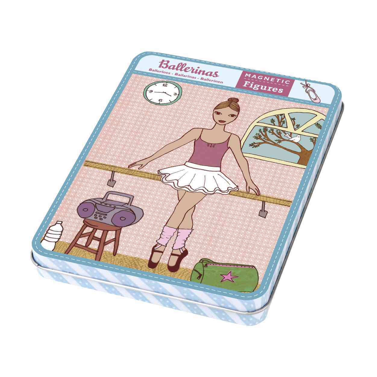 Ballerinas Magnetic Figures By Siminovich, Lorena (ILT)